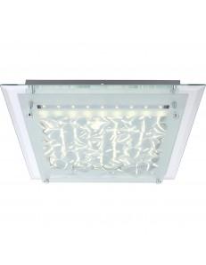 Agave plafoniera LED 18w quadrata