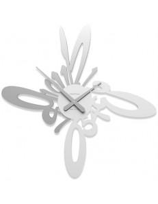 CALLEADESIGN: Armonico orologio moderno da parete legno bianco grigio in offerta