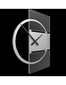 CALLEADESIGN: Adam orologio da parete moderno legno nero grigio in offerta
