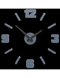 CALLEADESIGN: Orologio parete moderno numeri adesivi legno carta da zucchero 50cm in offerta