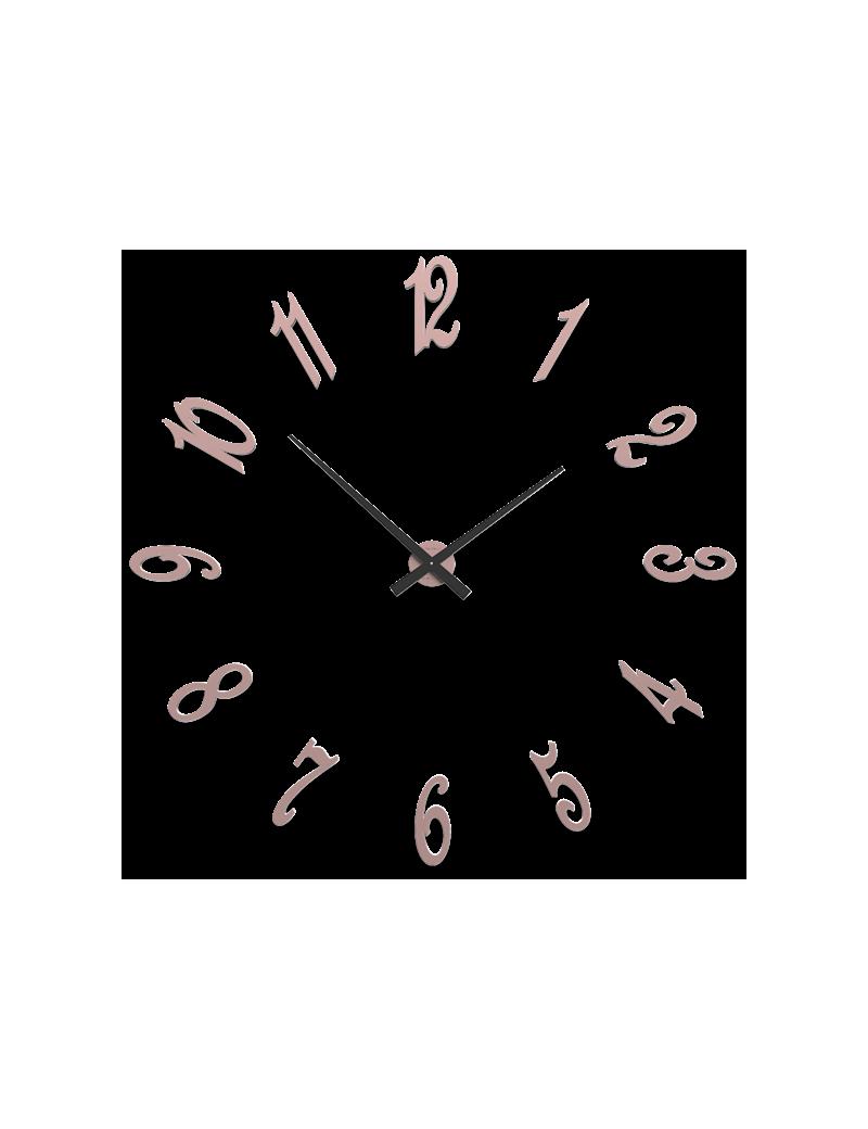 Orologio da parete moderno numeri adesivi diametro 130 for Orologi da parete adesivi