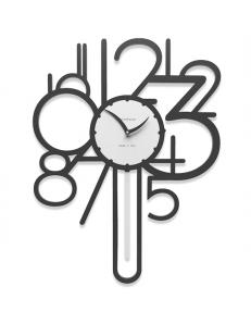 CALLEADESIGN: Joseph orologio a pendolo da parete moderno legno nero in offerta