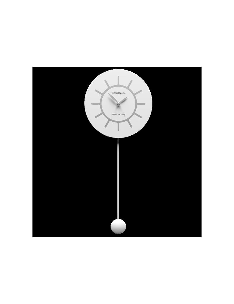 Orologio A Pendolo Moderno.Callea Design Filippo Orologio A Pendolo Moderno Bianco Grigio In