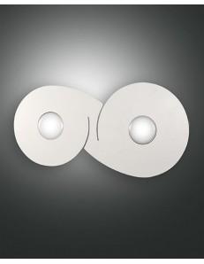 Ginny plafoniera LED rettangolare 14w luce calda bianca 25x50cm