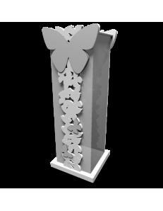 CALLEADESIGN: Portaombrelli moderno design farfalle legno bianco grigio in offerta