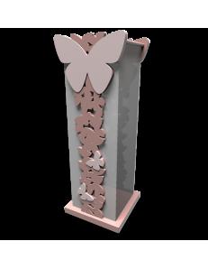 CALLEADESIGN: Portaombrelli moderno design farfalle legno rosa nuvola in offerta