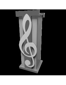 CALLEADESIGN: Nota musicale portaombrelli moderno legno bianco grigio in offerta
