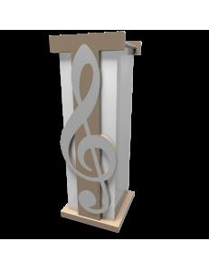 CALLEADESIGN: Portaombrelli moderno design musicale legno colore alluminio in offerta