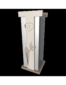 CALLEADESIGN: Portaombrelli moderno design gatto legno tortora in offerta
