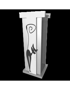 CALLEADESIGN: Portaombrelli legno moderno design gatto nero in offerta