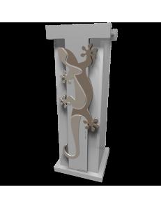 CALLEADESIGN: Geko portaombrelli moderno da ingresso legno colore sabbia in offerta