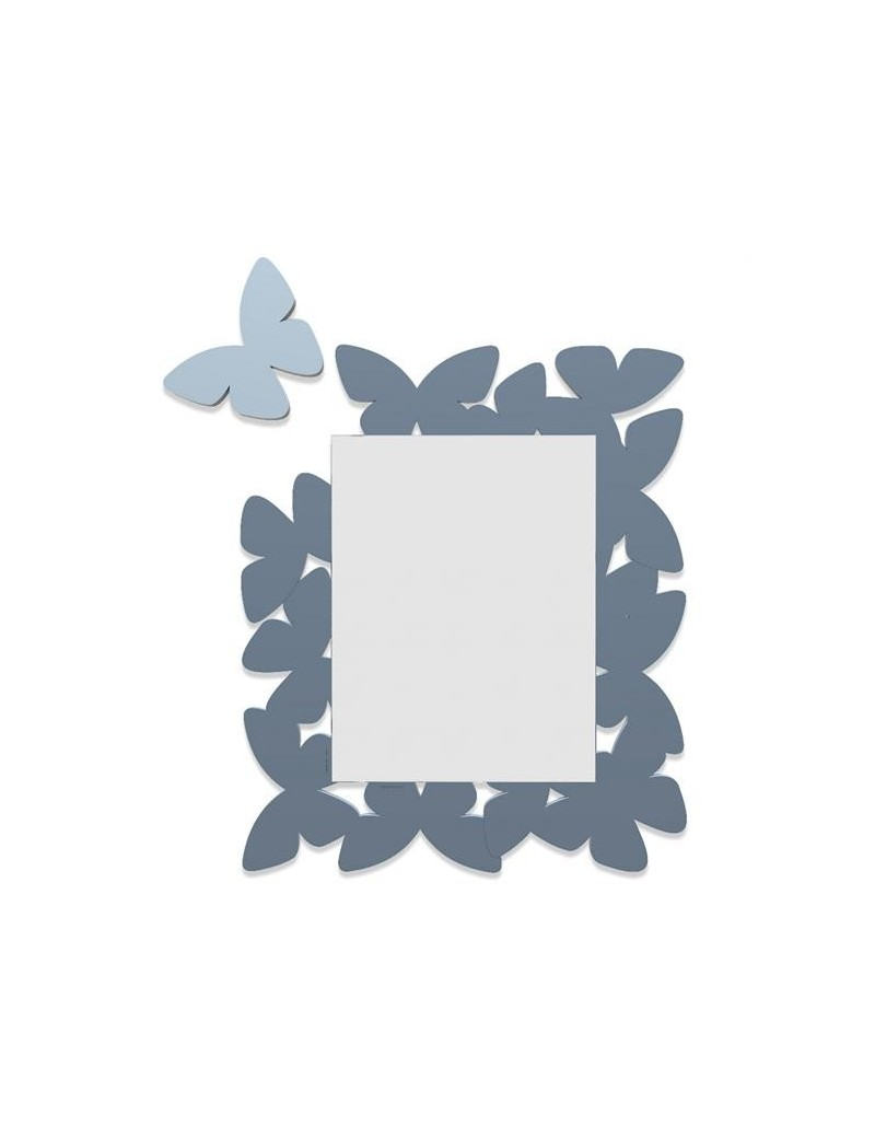 Specchio da parete farfalle legno colore carta da zucchero callea design - Parete carta da zucchero ...