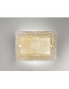 ANTEALUCE: Giada applique plafoniera cristallo ambra 32x47cm in offerta