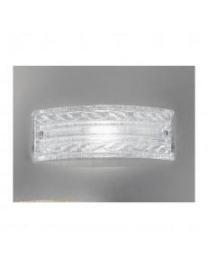 Applique Giada 40x14 cristallo trasparente Antea Luce