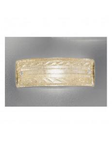 Applique Giada 40x14 cristallo ambra Antea Luce