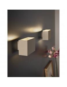 ANTEALUCE: Applique LED minimal 12x8cm in offerta