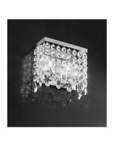 ANTEALUCE: Fair applique con pendenti in cristallo 20cm in offerta