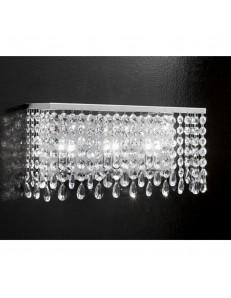 ANTEALUCE: Fair applique 45cm con pendenti in cristallo in offerta