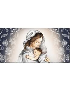 Argenti Preziosi: Capezzale contemporaneo maternita' stampa su