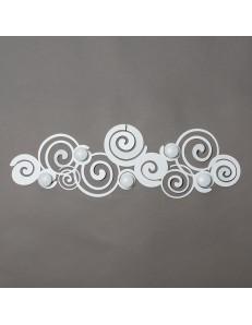 ARTI e MESTIERI: Orfeo appendiabiti metallo bianco moderno in offerta