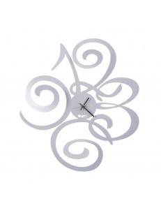ARTI e MESTIERI: Love filomena orologio grigio alluminio moderno in offerta