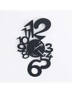 ARTI e MESTIERI: Lupin orologio parete moderno nero in offerta
