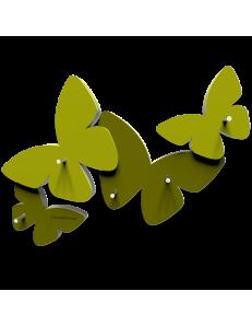 CALLEADESIGN: Appendichiavi da parete magnetico legno verde oliva in offerta
