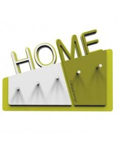 CALLEADESIGN: Home appendichiavi da parete magnetico moderno legno color bianco verde oliva in