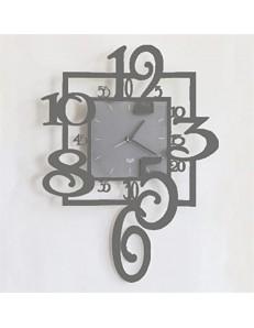 Arti e Mestieri: Amos orologio da parete pendolo ardesia