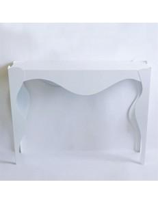 ARTI e MESTIERI: Isotta consolle design contemporaneo bianca in offerta