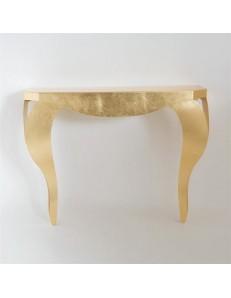 ARTI & MESTIERI: Chippendale consolle contemporanea da ingresso oro in offerta