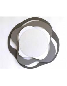 ARTI e MESTIERI: Isotta specchio design da parete antracite ardesia bianco in offerta