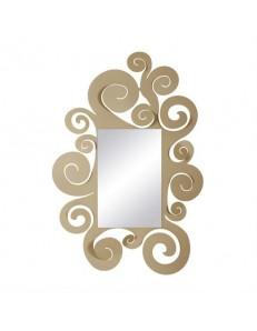 ARTI e MESTIERI: Temple specchio da parete beige stile contemporaneo in offerta