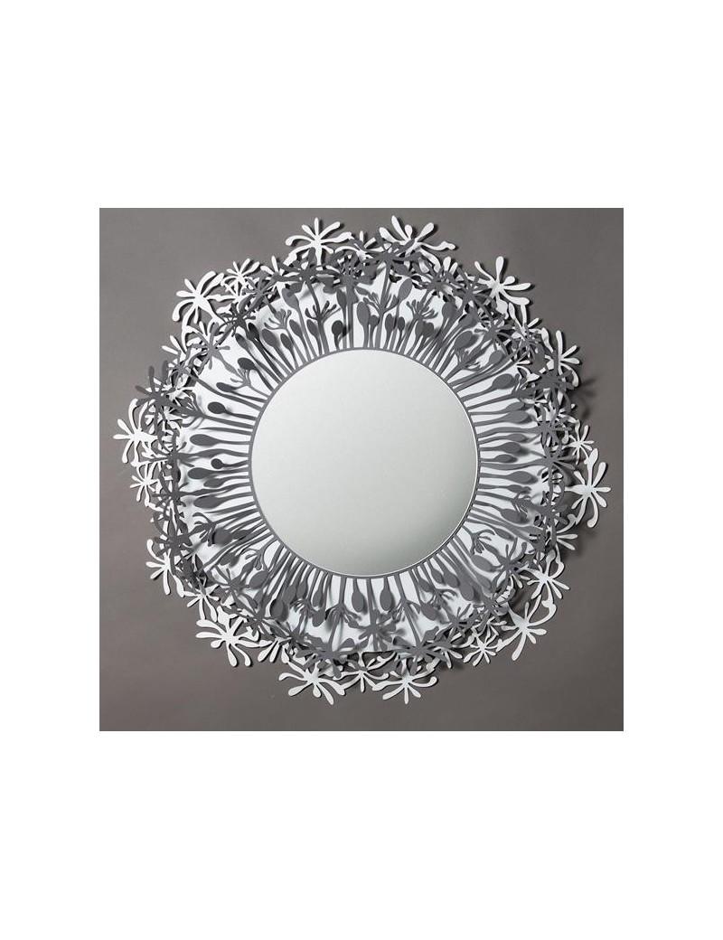 Specchi Grandi Da Parete Moderni.Soffione Specchio Da Parete Rotondo Moderno Ardesia Bianco