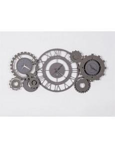 ARTI e MESTIERI: Fuso meccanico orologio da parete numeri romani ardesia fango in offerta