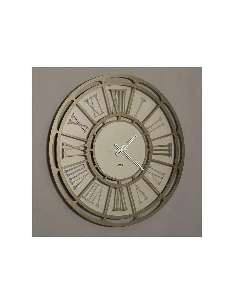 Big classic orologio da parete grande numeri romani sabbia bronzo 80cm