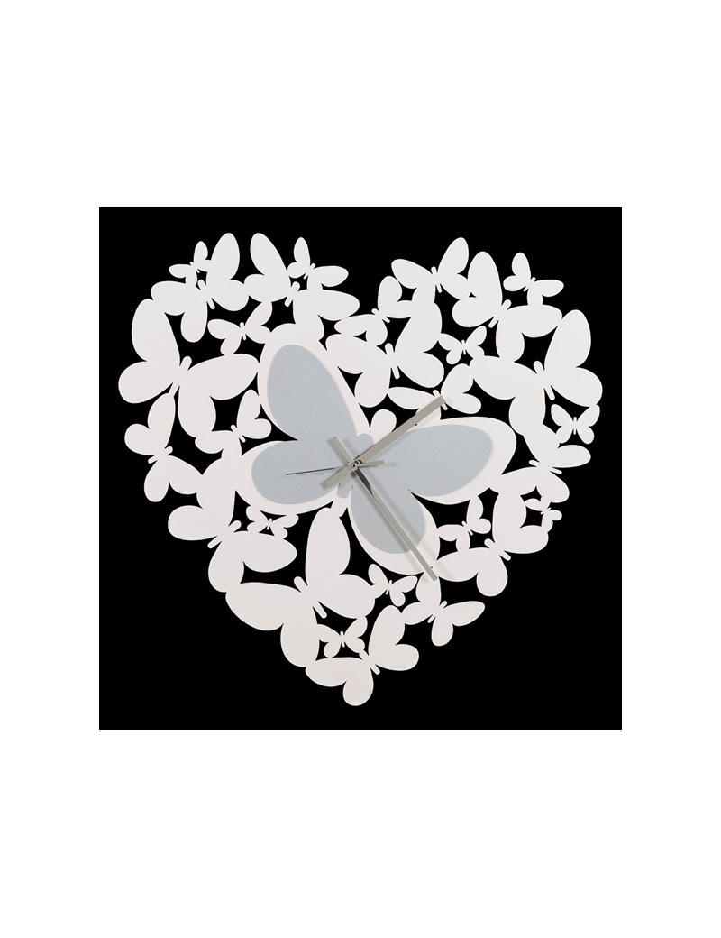 Butterfly orologio da parete design cuore farfalle arti for Orologio da muro farfalle