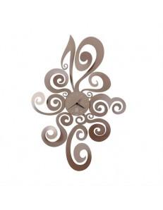 ARTI e MESTIERI: Noemi orologio da parete metallo colore beige in offerta