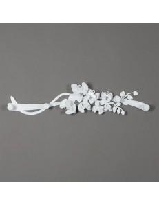ARTI e MESTIERI: Orchidea appendiabiti da parete moderno bianco in offerta