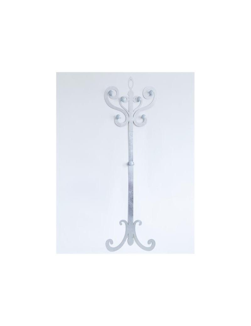 Appendiabiti In Metallo.Arti E Mestieri Thonet Grande Appendiabiti In Metallo Foglia Argento