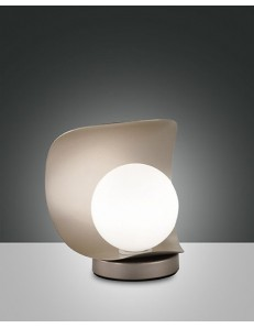 FABAS LUCE: Adria lampada da tavolo warm white oro opaco touch in offerta