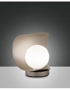 FABAS LUCE 3414-30-225 LAMPADA DA TAVOLO ADRIA 6W 540Lm WARM WHITE ORO OPACO TOUCH