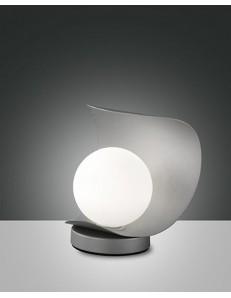 FABAS LUCE 3414-30-137 LAMPADA DA TAVOLO ADRIA 6W 540Lm WARM WHITE ARGENTO TOUCH