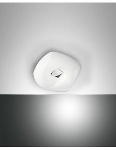 Arbatax small plafoniera LED 10w warm white bianca