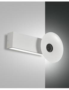 FABAS LUCE: Aretha applique LED 10w 900lm bianca con altoparlante bluetooth incorporato in offerta