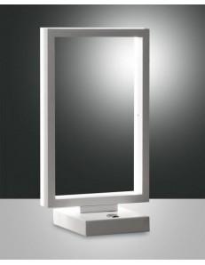 FABAS LUCE 3394-30-102 | BARD LAMPADA DA TAVOLO CON PULSANTE BIANCA WARM WHITE 15W 1350lm