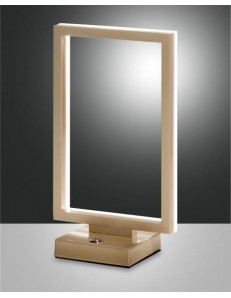 Fabas Luce: Bard lampada da tavolo oro warm white in offerta