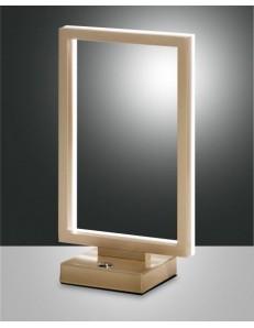 FABAS LUCE 3394-30-225 | BARD LAMPADA DA TAVOLO ORO WARM WHITE 15W 1350lm