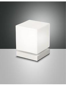 FABAS LUCE: Brenta lampada da tavolo LED 6w bianca touch in offerta