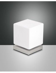 FABAS LUCE: Brenta lampada da tavolo LED cromo touch in offerta